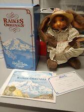 Robert Raikes Bear Jill Bunny Rabbit 20266 No 3893 of 5000 Rare
