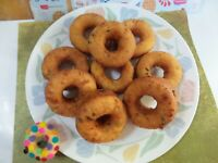 Cheddar & Jalapeño/ Green Onion Savory Donuts *Delicious with simple ingredients