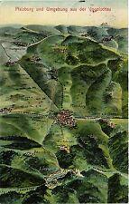 CPA Pfalzburg und Umgebung aus der Vogelschau (470804)