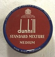 Vintage Dunhill Tobacco Tin Box (Bought in France) = PRISTINE !!!
