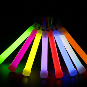 Ultra Bright Glow Sticks Industrial Grade 15cm Waterproof Party Camping Supplies
