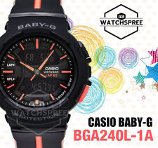 Casio Baby New BGA-240 For Running Line Series Watch BGA240L-1A AU FAST & FREE