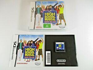 Nintendo DS Game High School Musical Makin the Cut G Disney Assembled in EU.