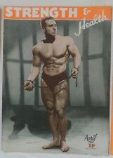 vintage bodybuilding magazine - Strength & Health - 04/1950 - TTBE