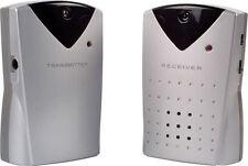 Alarma De Seguridad Inalámbrico de haz perímetro intruso & timbre de alerta con 2 adaptadores de corriente