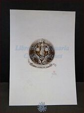 EROTICA - Ex-Libris Originale TADEUSZ SZUMARSKI Polonia Bialystok M. De Filippis