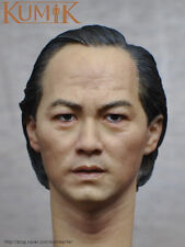KUMIK KM16-69 1/6 Scale Hong Kong Male Painted Head Model Tommy Tam Head Carved