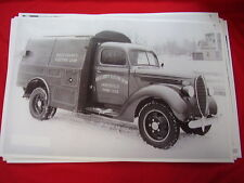 1938  FORD UTILITY TRUCK ROCK ELECTRIC CO.  11 X 17  PHOTO PICTURE