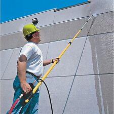 Pressure Washing Wand Telescoping Cleaning Power Extension Spray Building