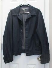 Levi's Engineered Jeans Men's Denim Jean Jacket - Size M - unique pleating