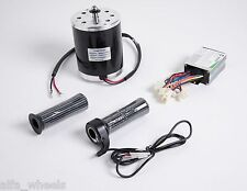 500 W 36 V electric motor T8F sprocet kit w base,controller & Throttle f scooter