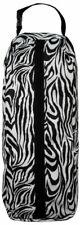 Showman Zebra Nylon Halter Bridle Bag Carrier with Handle & Heavy Duty Zipper