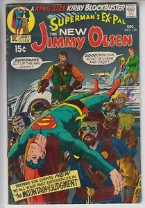SUPERMANS PAL JIMMY OLSEN # 134  FN+  KEY 1ST APP DARKSEID  CENTS 1970