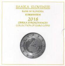 SERIE EURO BRILLANT UNIVERSEL (BU) - SLOVENIE 2018