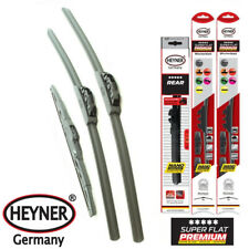 """Vauxhall Corsa D 2006-on German Quality Wiper Blades 26""""16""""12"""" Front Rear Set"""