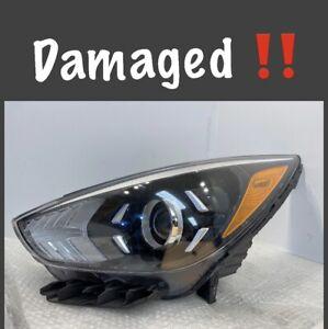 2017 2018 2019 Kia Niro Left Driver LH Halogen Headlight 92101-G5 OEM Damaged!