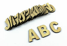 Conjunto De 26 Mediano De Madera Letras del alfabeto / Plain / Colgante De Pared / Decoración Infantil