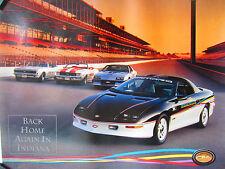 Chevrolet Dealer Camaro, Pace Car, Z28 Poster 1993- NOS