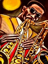 RAHSAAN ROLAND KIRK PRINT poster jazz sax mercury recordings cd stritch manzello