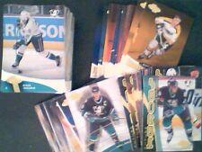 2000-01 UPPER DECK HEROES COMPLETE MASTER SET (222-CARD SET)