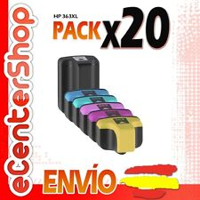 20 Cartuchos de Tinta NON-OEM HP 363XL - Photosmart D7360