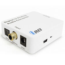 OREI DA21 Optical SPDIF / Coaxial Digital to RCA L/R Analog Audio Converter