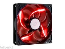 Cooler Master Sickleflow 120mm Computer Fan with Red LEDs