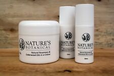 NATURE'S BOTANICAL ROSEMARY AND CEDARWOOD Insect Repellent Farm Pack of 3