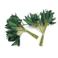 20Pcs Foam Green Artificial Leaf Bouquet For Wedding Party Decoration Accessorie