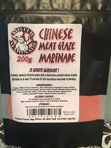 Mister Marinade Chinese Meat Glaze Marinade 200g BBQ Rub