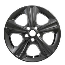 """Fits Ford Escape 2013-2016 CCI BLACK 17"""" Wheel Skins Hubcaps Wheel Covers"""