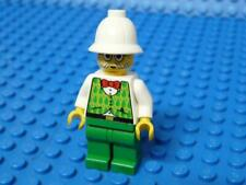 LEGO Minifig,Dr. Kilroy - Green Vest, Green Legs x1pc