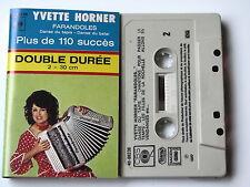 YVETTE HORNER . FARANDOLES . TAPE . CASSETTE AUDIO . K7