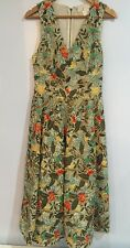 Alice + Olivia Sequin Embellished Gold Embroidered Dress Size 6 New With Tags