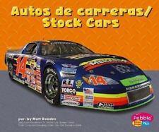 Autos de carreras/Stock Cars (Maquinas maravillosas/Mighty Machines)-ExLibrary