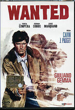 Wanted DVD WESTERN NUOVO SIGILLATO Next VIDEO con Giuliano Gemma RARO