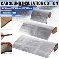 6mm Car Interior Sound Noise Heat Proofing Deadening Insulation Foam Cotton Pad