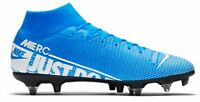 Nike Fußball Stollenschuhe Nike Mercurial Superfly 7 Academy SG-PRO blau weiss