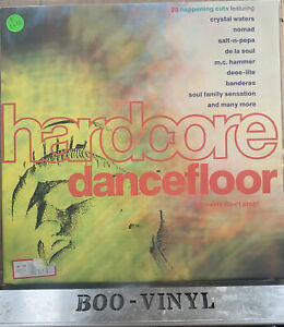 Hardcore Dancefloor-DINTV 24-vinyl LP-uk classic club dance hits EX / EX