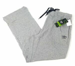 NWT Umbro Men's Knitted Jersey Pants (Sweat Pants) - Navy, Grey, OR Black