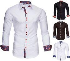 kayhan herren hemd business hochzeit gastro freizeit slim fit s m l xl xxl royal