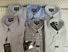 Men's Kirkland Signature Traditional Fit Button Down Non Iron Dress Shirts *NWT*
