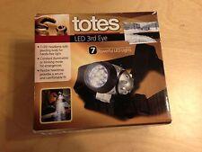 New - Totes LED 3rd Eye Headlamp