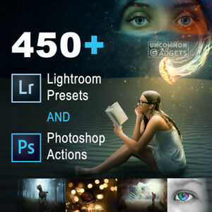 450+ Professional Lightroom Presets and Photoshop Actions✔️Fast Delivery✔️