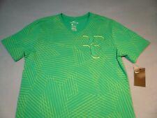 Nike RF Roger Federer LARGE BRAND NEW v-neck t-shirt Tennis athletic cut