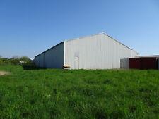 Stahlhalle Lagerhalle gebraucht 400 m2 10 x 40 x 6 m verzinkt nur 70 € /m2