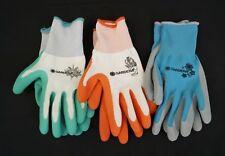 Gardena Work / Gardening Gloves Nitrile Dipped Anti-Slip Protection 3 Pairs