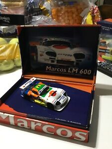 VINTAGE BEAUTIFUL FLY 2001 GT LM 600 MARCOS / ORIGINAL BOX / SEALED / NEW OLD!!!