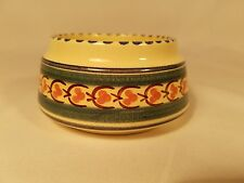 "Honiton Pottery Small Bowl Made in Devon, England 4 1/4"" diameter & 2 1/8"" tall"