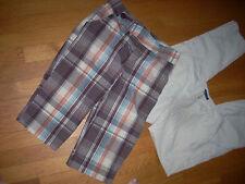 "NEW LOT 2 $34  ~Lipsy LONG Shorts & Pants Girls LOW 9"" Rise CLEARANCE SALE 10/12"